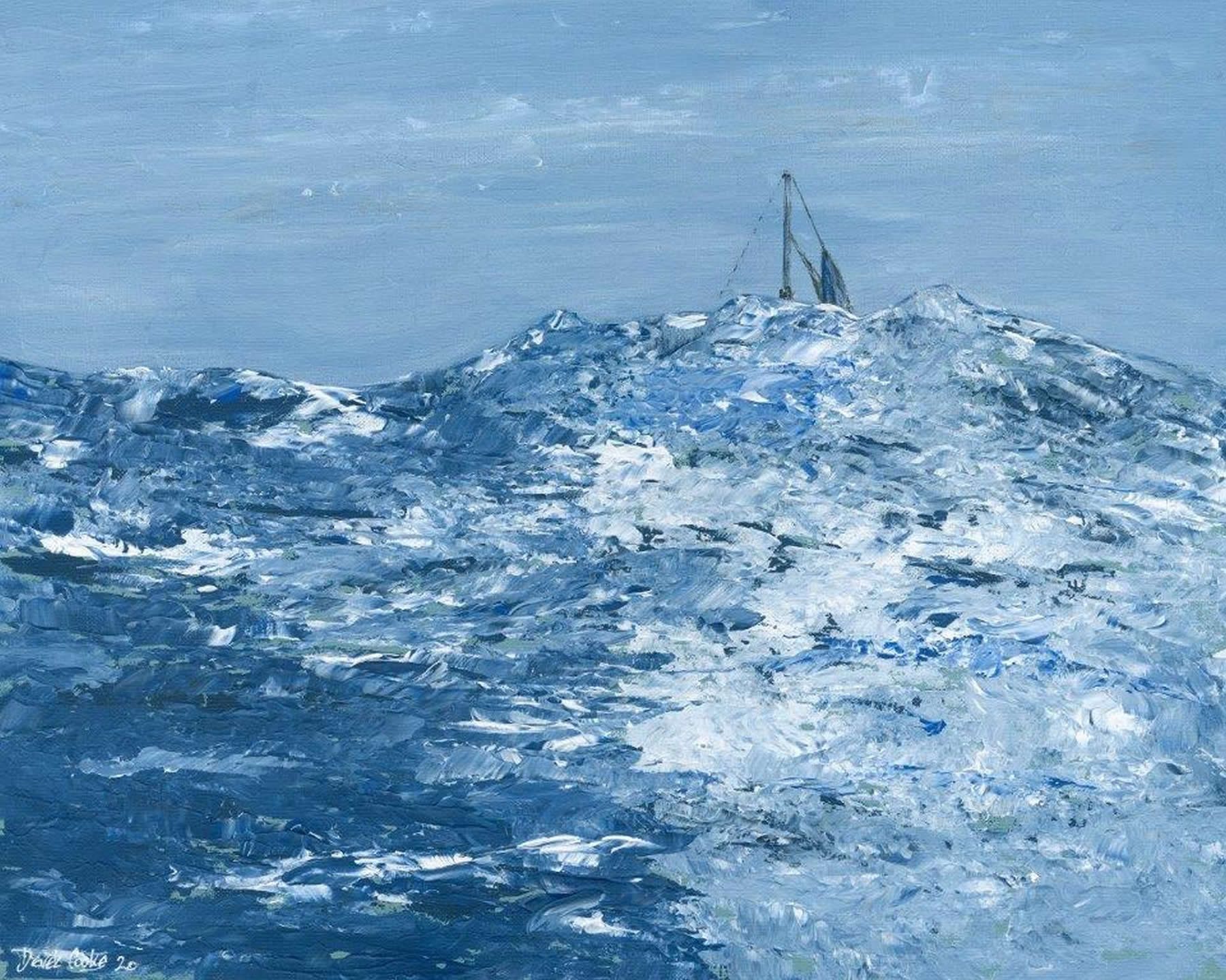 Art Print - Mid Atlantic - Swelling High Seas