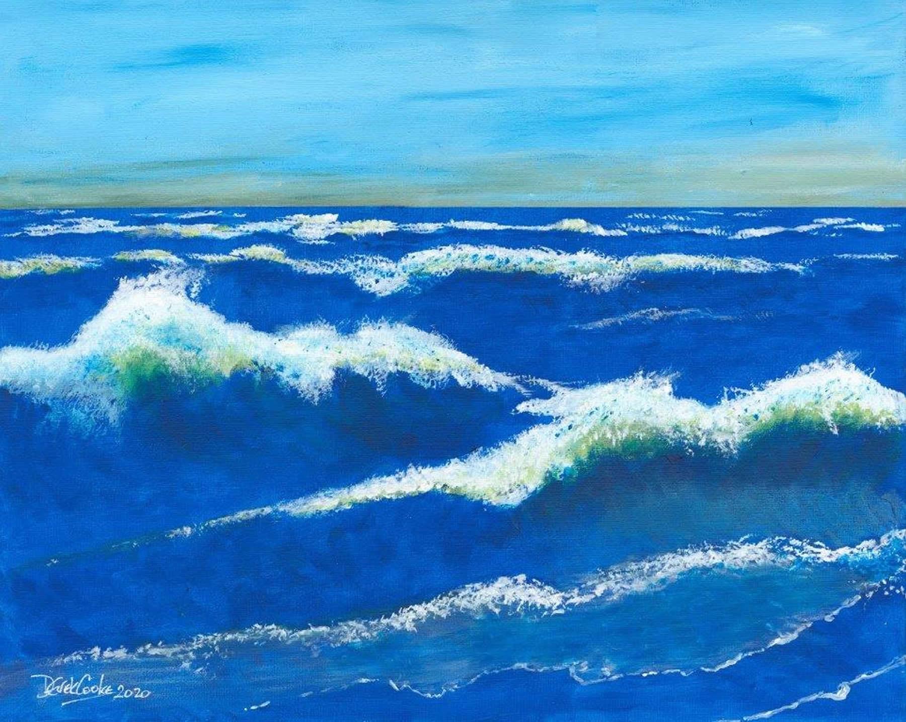 Art Prints - Sea Waves