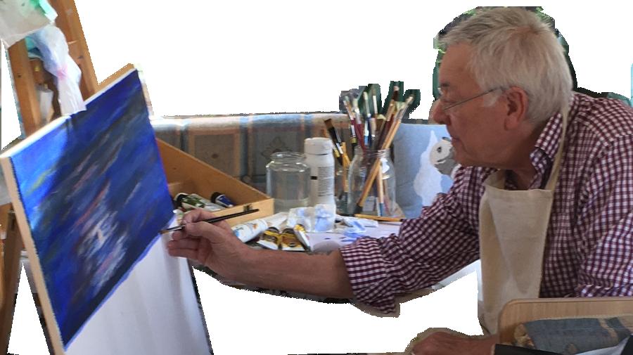 Derek Cooke - Shepperton Artist - Fine Art Prints Of Original Paintings For Sale