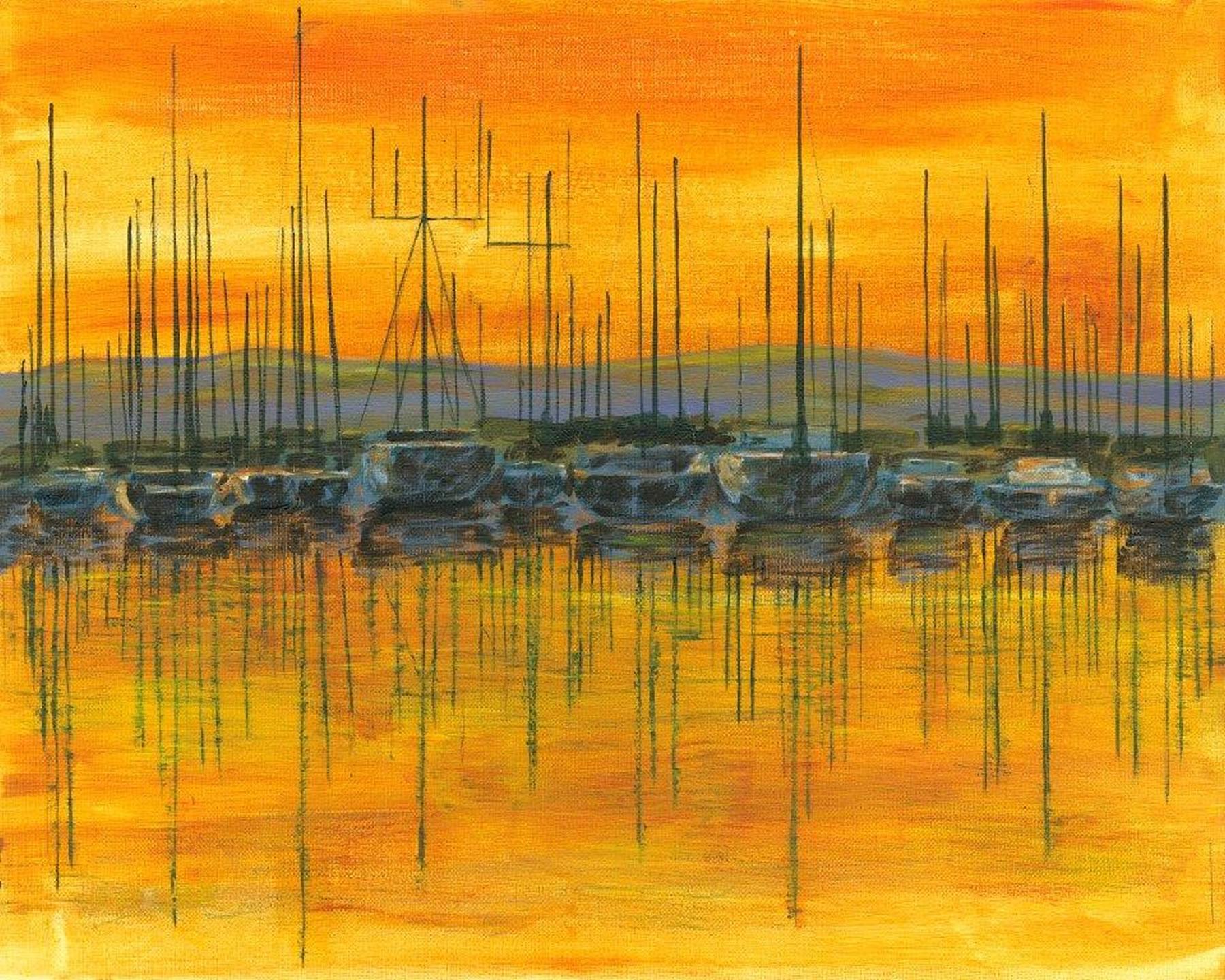 Fine Art Prints - Sunset Harbour
