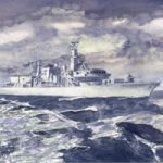 HMS Monmouth – Fine Art Print – Ship On Patrol