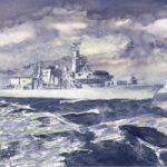HMS Monmouth – Fine Art Print – Ship On Patrol