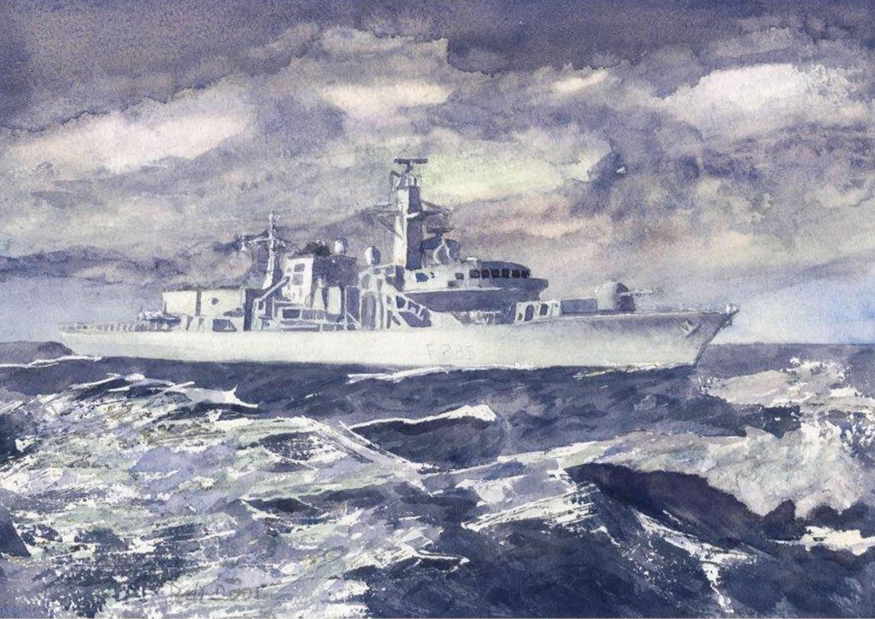 HMS Monmouth - Fine Art Print