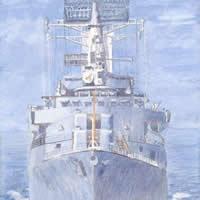 HMS Norfolk – Ship Fine Art Print