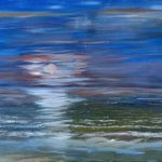 Moonlight Magic – Art Prints – Sea and Sky at Night Painting – Shepperton Artist Derek Cooke