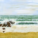 Art Prints – Beach at Swanage Dorset