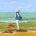 Watching the Waves – Beach Fine Art Print