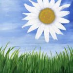 Flaming Daisy – Giclee Fine Art Prints for Sale